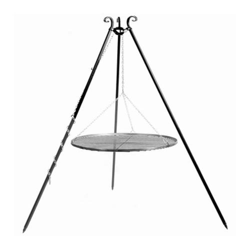 Schwenkgrill 180 cm - Grillrost aus Edelstahl